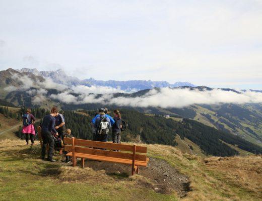 Wandern bei Saalbach