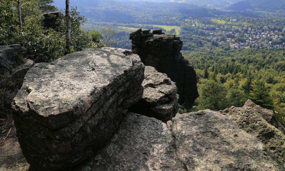Wandertipps Schwarzwald: Kletterfelsen Battert