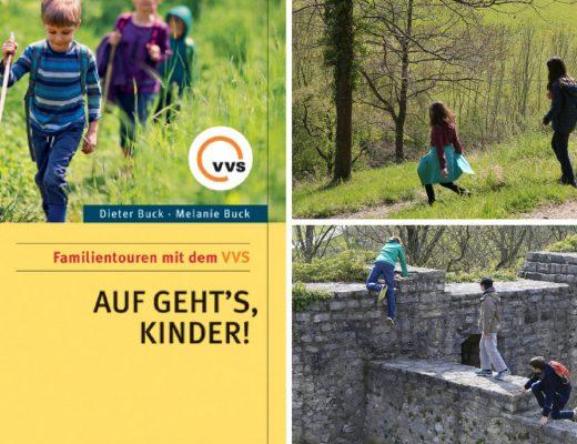 Auf geht's Kinder Kinderwanderbuch
