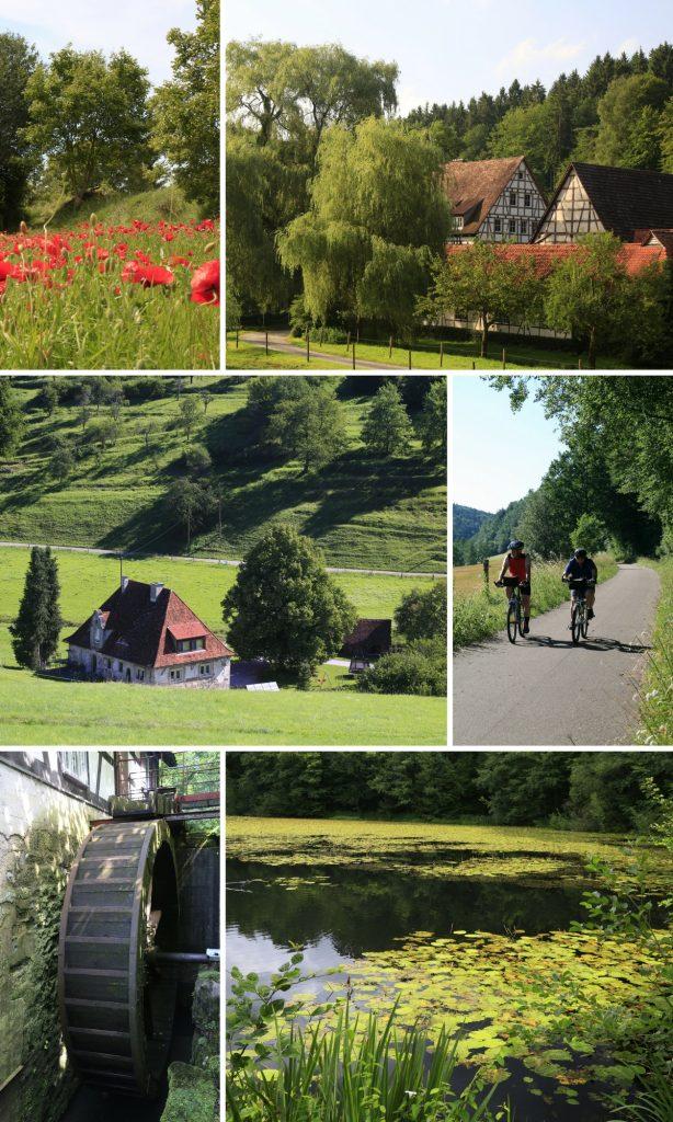 Bilder vom Siebenmühlental in der Region Stuttgart