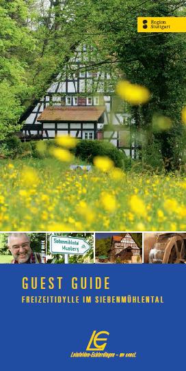 Der neue Guest Guide Siebenmühlental ist kostenfrei erhältlich.
