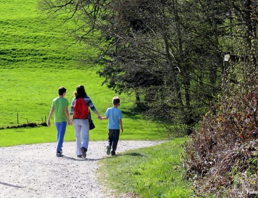 Tipps zum Wandern mit Kindern. Foto: canva.com