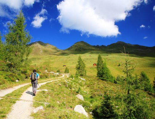 Wandern im Gsieser Tal in Südtirol