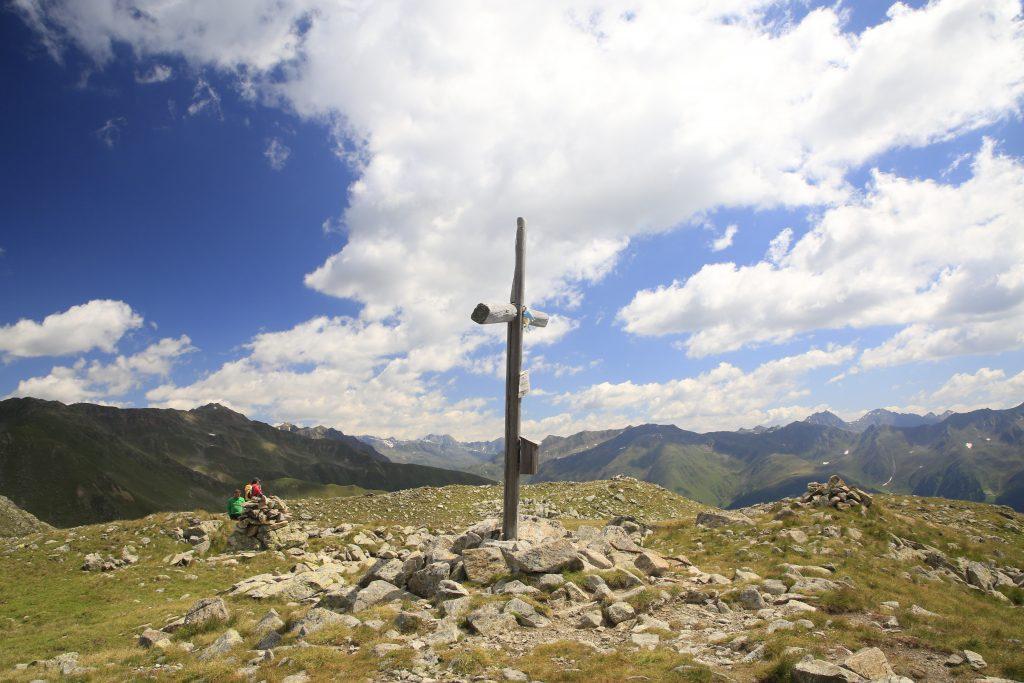 Gipfelkreuz auf dem Karbacher Berg/Fellhorn