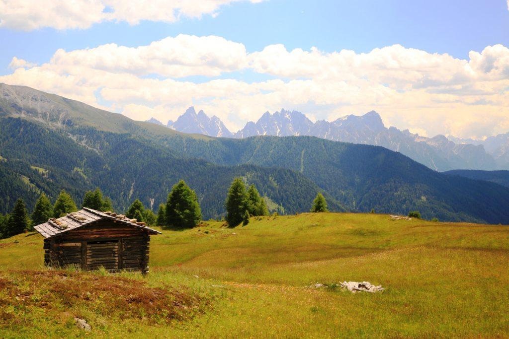 Almen im Gsieser Tal in Südtirol
