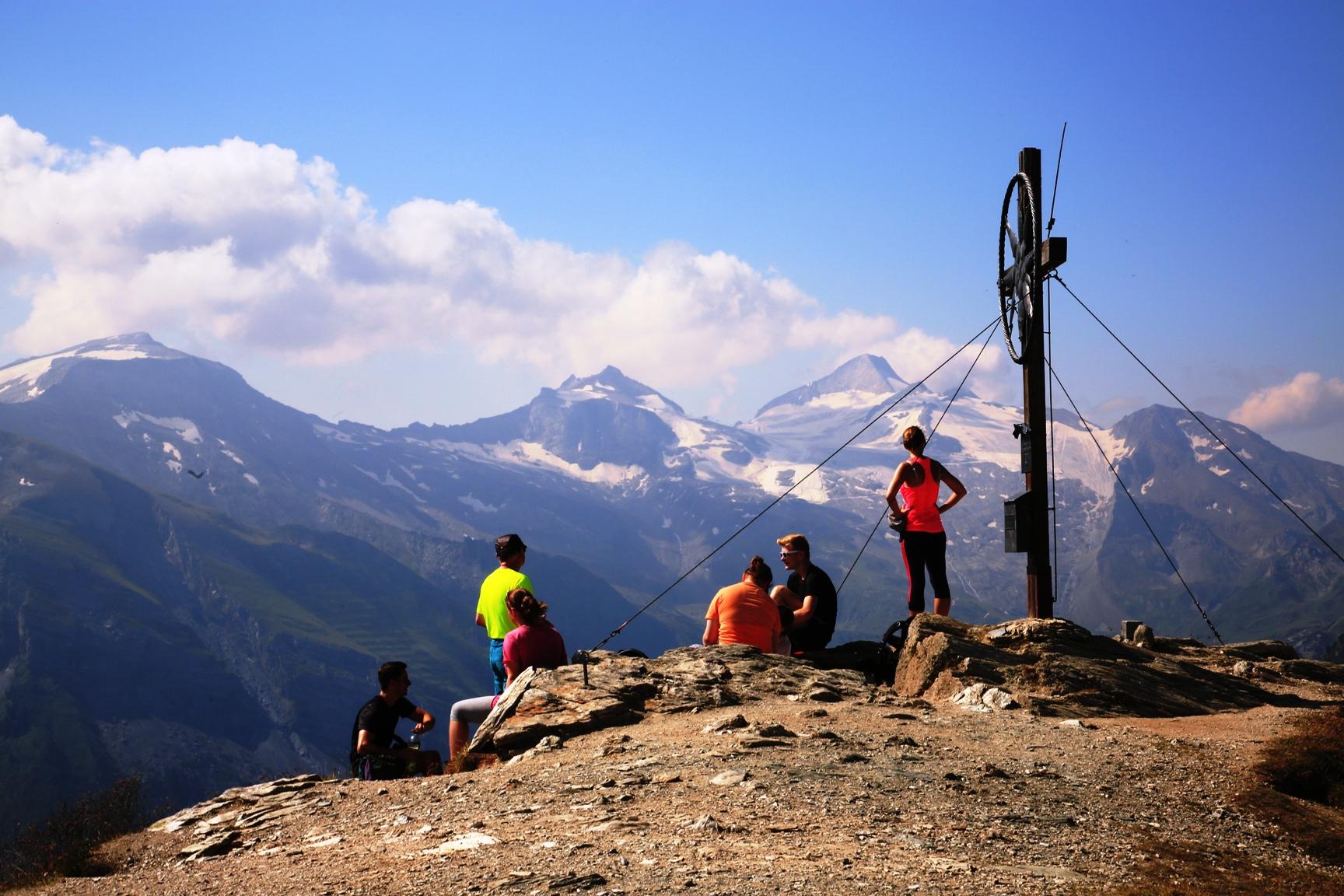Gipfelkreuz auf der Grüblspitze