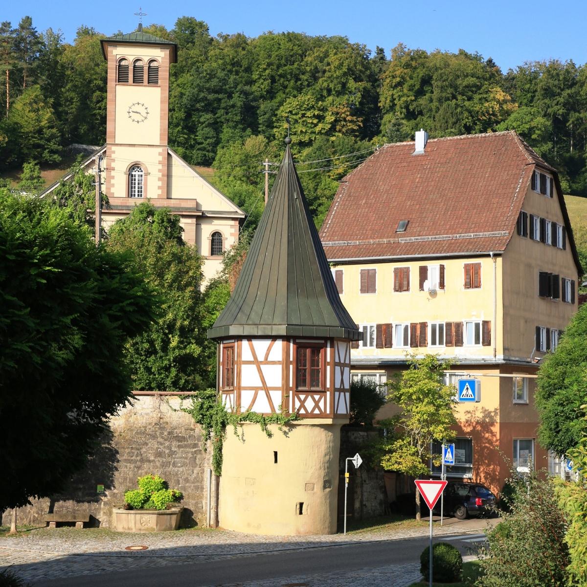 Der Schandturm in Rexingen