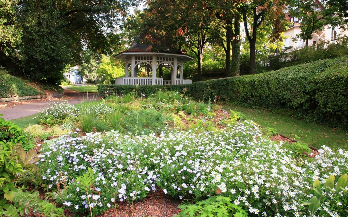 Der Stadtgarten in Radolfzell