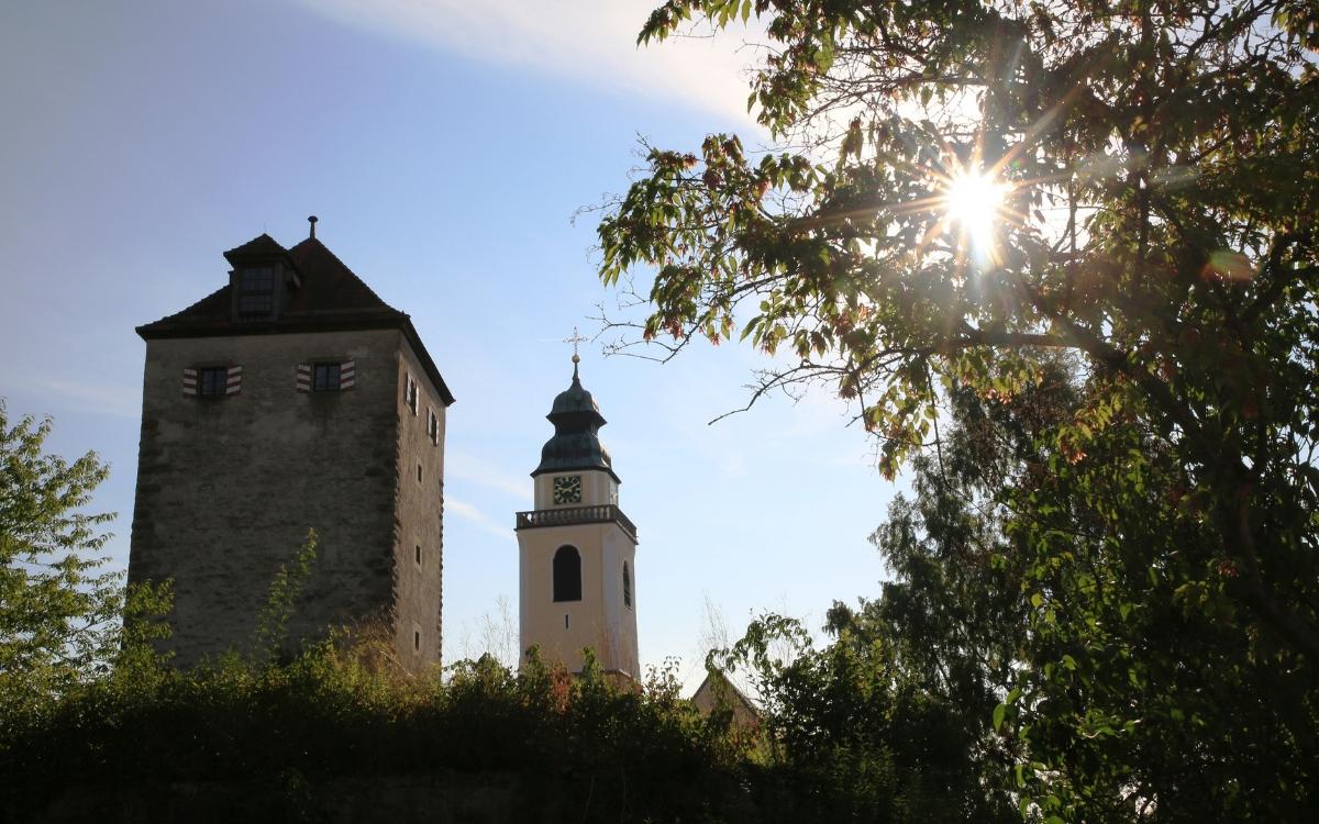 Die Stiftskirche Heilig Kreuz in Horb